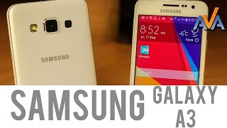 Смартфон Samsung Galaxy A3 SM-A300H обзор от AVA.ua