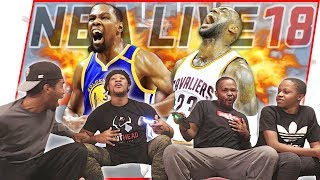 Who Is The KING of The Court? 1v1 B-Ball BATTLE! - NBA Live 18