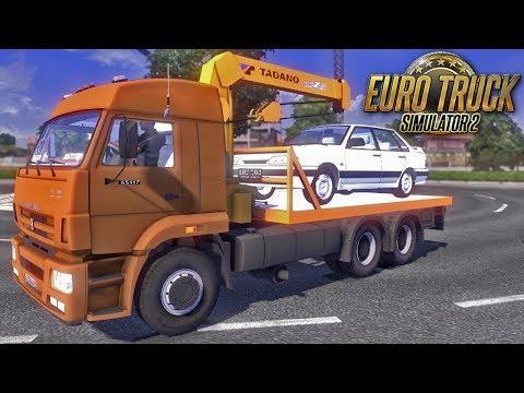 Euro Truck Simulator 2 Caminhão Guincho