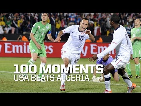 100 Moments: USA Beats Algeria