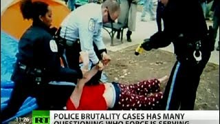 documantary   Trigger Happy Cops  US police (brutality) covered up   3/9/14