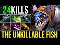 Epic Unkillable [Slark] How To Deal With Counter Pick 24Kills By Sccc 7.19c | Dota 2 Highlights