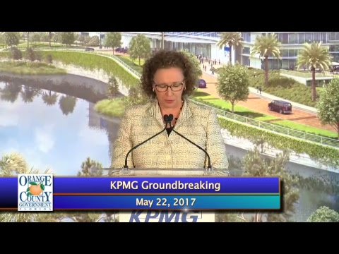 KPMG Learning, Development, And Innovation Facility In Lake Nona Groundbreaking Celebration,