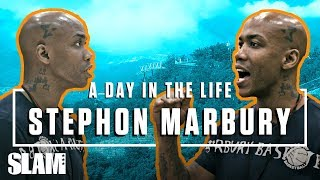 STEPHON MARBURY: From NBA All-Star to Head Coach in China | SLAM Day in the Life