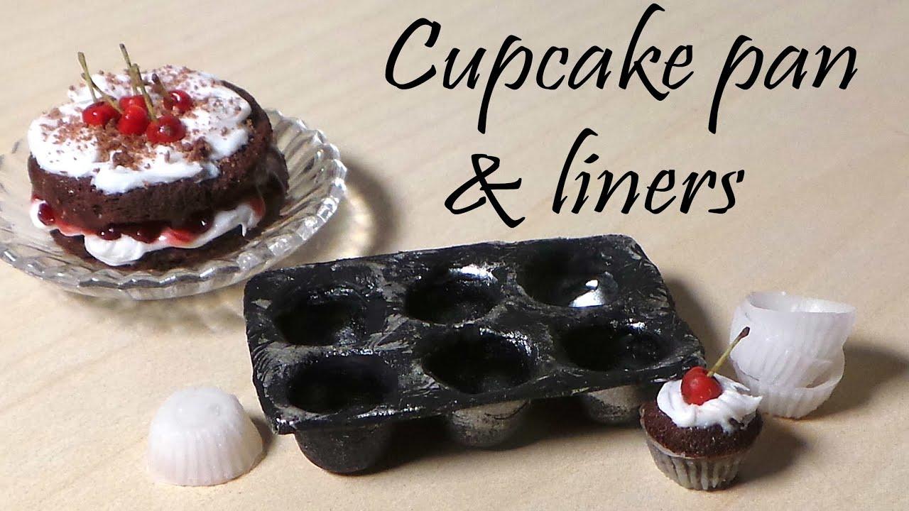 Miniature Cupcake Pan Amp Cupcake Liners Polymer Clay