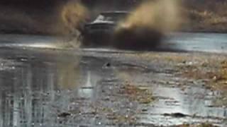 Toyota 4runner mudding in northern WI.