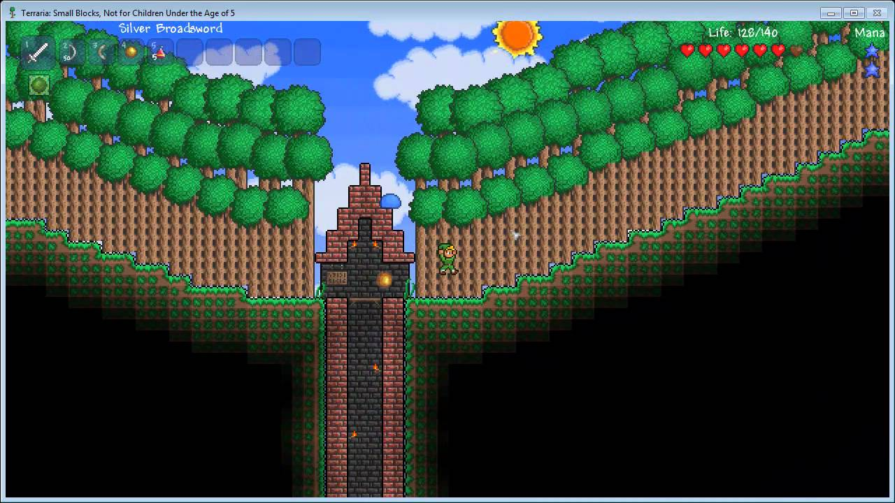 Links Adventure Terraria Custom Map With Matt Episode 1