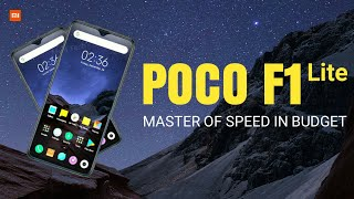 Xiaomi POCO F1 Lite - Specs, Launch & Price | New Budget Killer | POCOPHONE F2