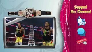 WWE TLC 2015 THE USOS VS NEW DAY VS LUCHA DRAGONS TAG TEAM CHAMPION
