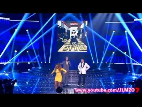 PSY - Gangnam Style - performing live on The X Factor Australia 2012