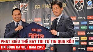 VN Sports 20/7   NÓNG: Tân HLV Thái Lan tự tin đánh bại Việt Nam và đưa Thái Lan tham dự WC 2022