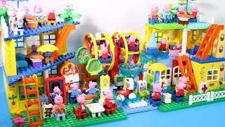 Peppa Pig Lego House Toys For Kids - Lego House With Water Slide Creations Toys #12