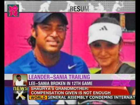 India @ Olympics: Leander Paes-Sania Mirza mixed doubles match postponed - NewsX