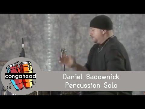 Daniel Sadownick percussion solo