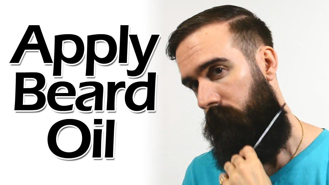 How to Apply Beard Oil like a Boss - YouTube