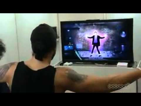 Michael jackson experiance game for wii.