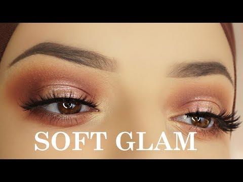 Easy Soft Glam Eye Makeup Tutorial   Anastasia Beverly Hills Stila