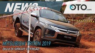 Mitsubishi Triton 2019 | Diuji Di Sirkuit Offroad | News | OTO.com