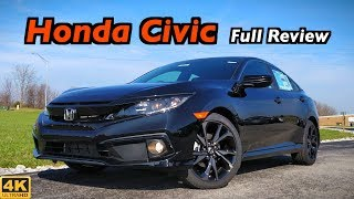 2019 Honda Civic Sedan: FULL REVIEW + DRIVE | Civic (somehow) Gets Even Better for 2019!