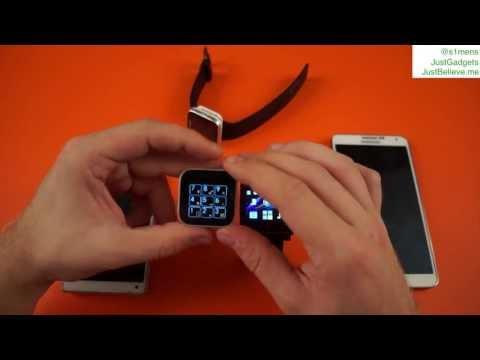 Сравнение Smartwatch от Sony: MN2 vs. SW2