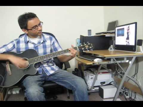 Tere Liye (prince) - Atif Aslam (guitar Jam) video