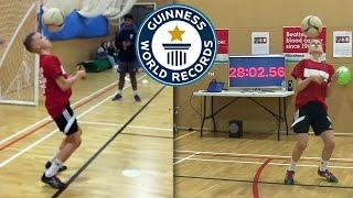 Aspiring teenage footballer breaks Maradona 7 world record - Guinness World Records