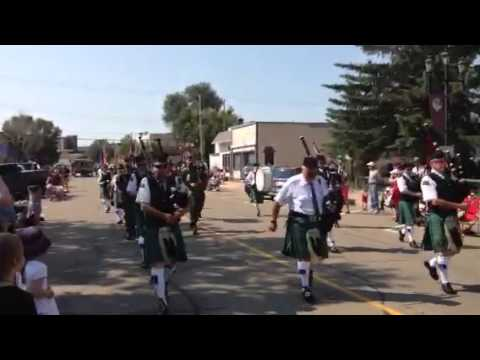 Clan Maxwell at Drumheller Canada Day