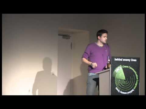 28c3 Tresor Festplatten Festplattenverschlüsselelung Tilo Vortrag 2011