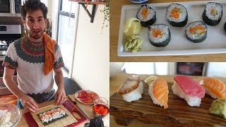 Beginner's Guide to Making Sushi