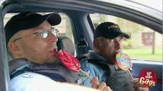 Cops Steal Candy From Kids