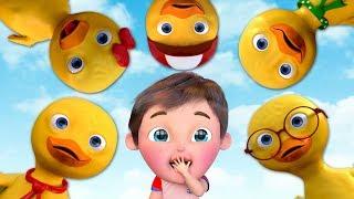 Five little Ducks ,  Baby Shark , Baby Song  , Baby Finger Family Song , Baby Johny Johny Yes Papa