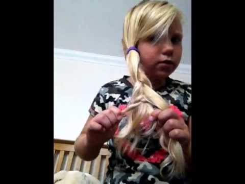A 7 year olds guide to 5 easy hair styles