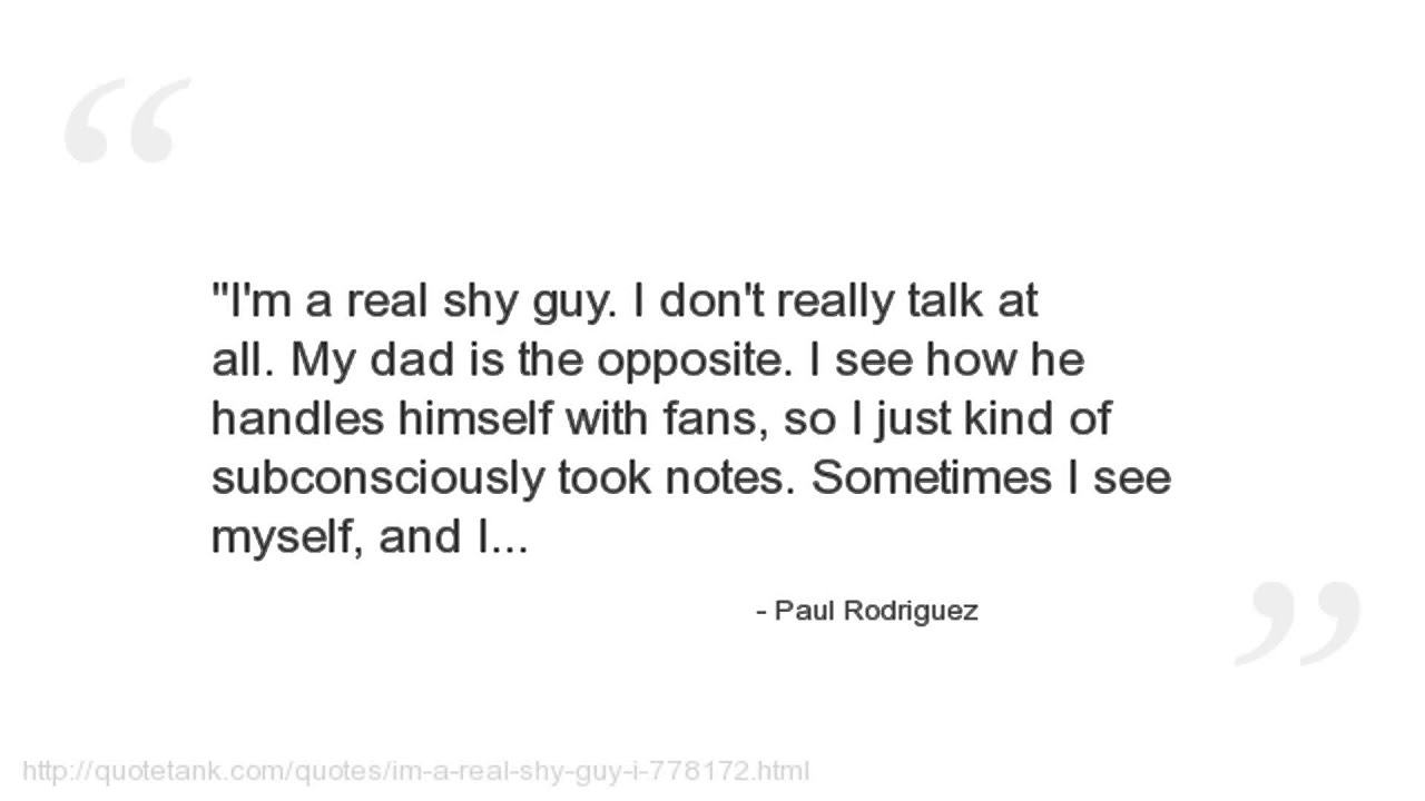 Paul Rodriguez Skateboarding Quotes Paul Rodriguez Quotes