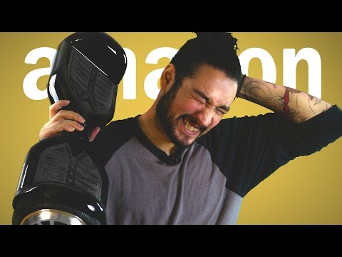 BRUTAL HOVERBOARD ACCIDENT • AMAZON PRIME TIME