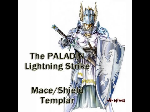 Updated Path of Exile Paladin - Lightning Strike Templar Build (Mace/Shield)