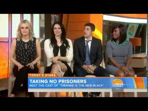 Taylor Schilling, Laura Prepon, Jason Biggs, Uzo Aduba Live On The Today Show 6/10