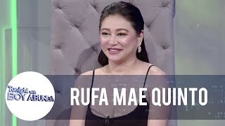 Rufa Mae reveals her thoughts about Roxanne Barcelo allegedly imitating her brand of comedy | TWBA