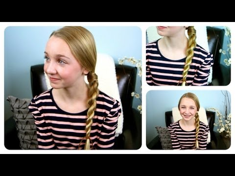 Hair-Wrapped Rope Braid {Plait}