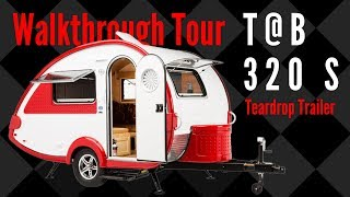 2019 T@B 320 S Teardrop Trailer Walkthrough Tour