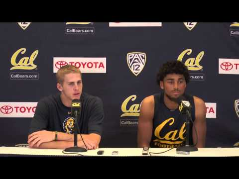 Cal Football: Jared Goff & Kenny Lawler - Arizona Post Game (Nov. 2, 2013)