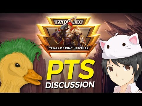 SMITE - PTS Discussion - 4.10 Trials of King Hercules