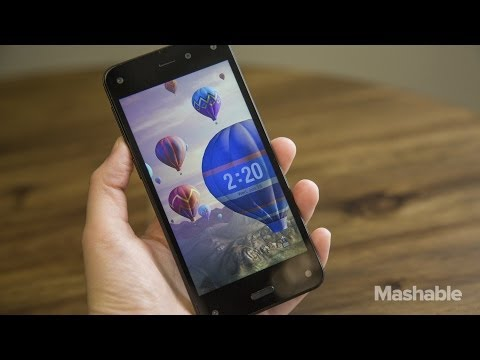 Amazon's Fire Phone Hands On Review   Mashable