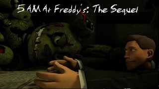 [SFM/FNAF] - 5 AM At Freddy