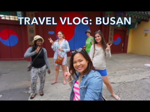 Travel Vlog: Busan!