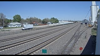 Kearney, Nebraska, USA - Virtual Railfan LIVE