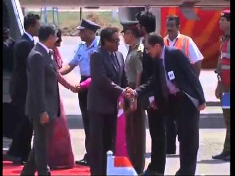 Maldives President Arrives In New Delhi for Modi Oath- Taking Ceremony