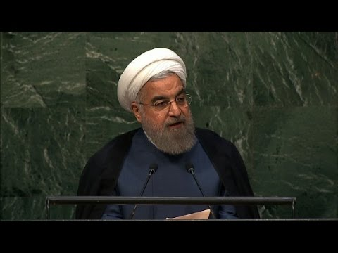 Rouhani to U.N.: Iran deal a 'victory over war'