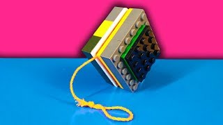 HOW TO MAKE A YO-YO TOY FROM LEGO
