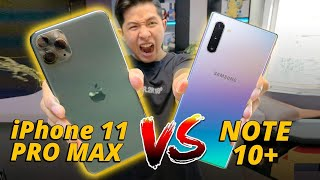 SPEEDTEST iPHONE 11 PRO MAX VS NOTE 10+: A13 QUÁ KHỦNG KHIẾP...