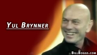 Yul Brynner Interview with Bill Boggs
